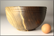 "9"" BLACK WALNUT BOWL #1108 (SKU: BWB50X90-1108)"