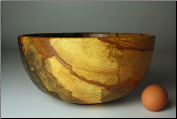 "11"" SPALTED COPPER BEECH BOWL 1146 (SKU: SCBB50X110-1146)"