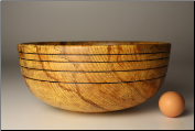 "11.5"" SPALTED COPPER BEECH BOWL #1116 (SKU: SCBB50X115-1116)"
