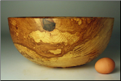 "12.5"" SPALTED COPPER BEECH BOWL #1080 (SKU: SCBB55X125-1080)"
