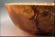SPALTED COPPER BEECH