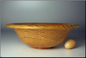 Click here to see: OAK wood bowls.