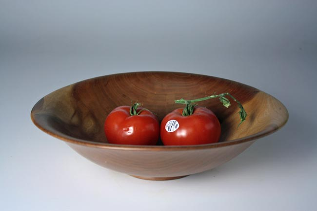 "13"" BLACK CHERRY FRUIT BOWL"