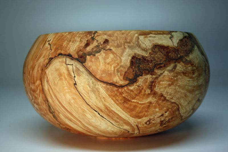 RAW WOOD COPPER BEECH BOWL