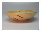 "13.5"" Red Maple Bowl"