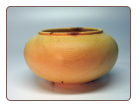 13.5 RED MAPLE VESSEL