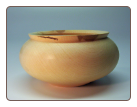 "8.5"" RED MAPLE VESSEL"